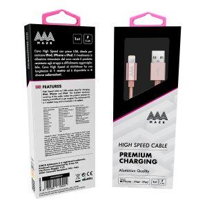 AAAmaze Cavo lightning 1 metro Phone/iPad