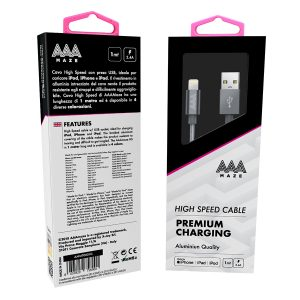 AAAmaze Cavo lightning 1 metro iPhone/iPad
