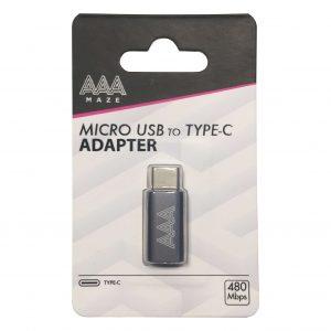 AAAmaze Adattatore micro USB to TYPE-C