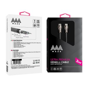AAAmaze Cavo HDMI 2.0 ultra premium - High Definition