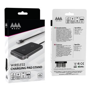 AAAmaze Caricatore wireless charging pad stand 10 W