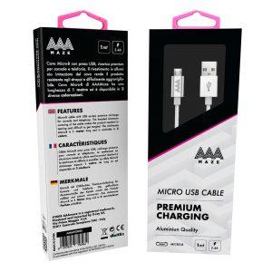 AAAmaze Cavo micro USB 1 metro