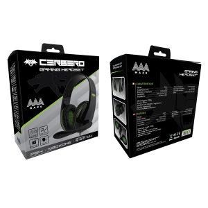 AAAmaze Cerbero Cuffia Gaming Headset PS4/XBOX ONE