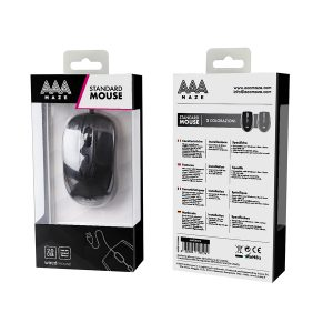 AAAmaze Mouse standard con cavo