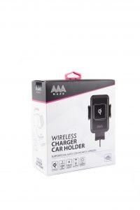 Supporto auto AAAmaze con ricarica wireless