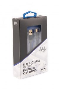 AAAmaze Cavo ricarica Play & charge USB cable 3 metri ricarica PAD Playstation