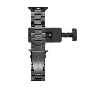 Cinturino AAAmaze Apple Watch in acciaio dark grey
