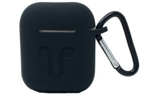 Custodia AAAmaze per Apple Airpods in silicone Black