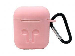 Custodia AAAmaze per Apple Airpods in silicone Pink