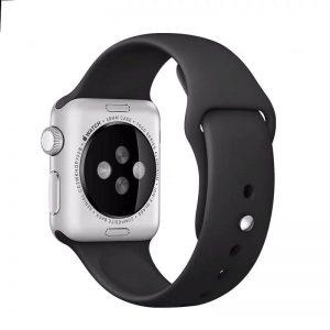 Cinturino AAAmaze Apple Watch in silicone Black