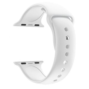 Cinturino AAAmaze Apple Watch in silicone White