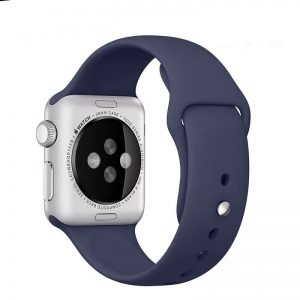 Cinturino AAAmaze Apple Watch in silicone Navy Blue