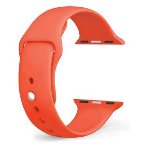 Cinturino AAAmaze Apple Watch in silicone Orange