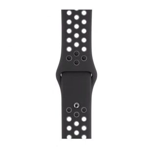 Cinturino AAAmaze Apple Watch in silicone Black/Grey