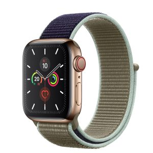 Cinturino AAAmaze Apple Watch in nylon Khaki