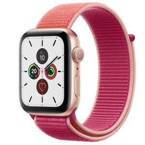 Cinturino AAAmaze Apple Watch in nylon Pomgranade