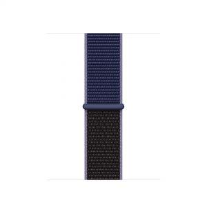 Cinturino AAAmaze Apple Watch in nylon Midnight Blue