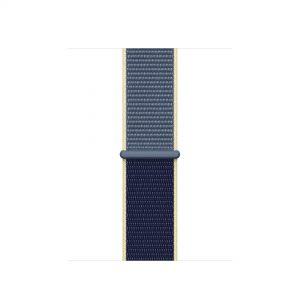 Cinturino AAAmaze Apple Watch in nylon Alaskan Blue