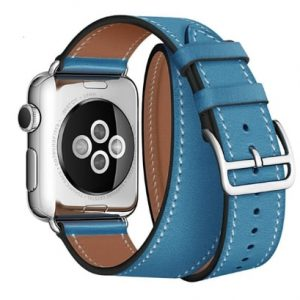 Cinturino AAAmaze Apple Watch in pelle Turquoise