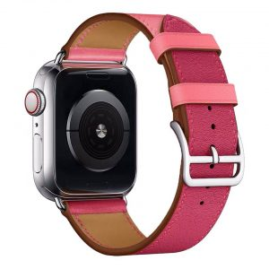 Cinturino AAAmaze Apple Watch in pelle Purple/Pink