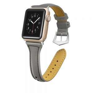 Cinturino AAAmaze Apple Watch in pelle Grey