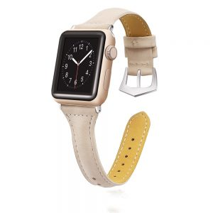 Cinturino AAAmaze Apple Watch in pelle Apricot