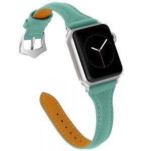 Cinturino AAAmaze Apple Watch in pelle Teal