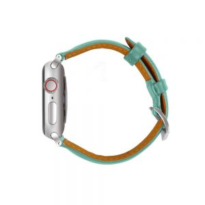 Cinturino AAAmaze Apple Watch in pelle Teal