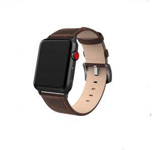 Cinturino AAAmaze Apple Watch in pelle Brown