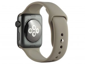 Cinturino AAAmaze per Apple watch in silicone light grey