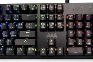 AAAmaze Tastiera Mastermind meccanica RGB Gaming con filo