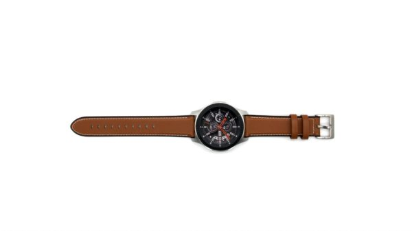 Cinturino AAAmaze per Watch 22 mm in pelle marrone