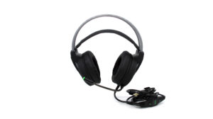 Cuffie AAAmaze Headset Gaming a filo con microfono nere